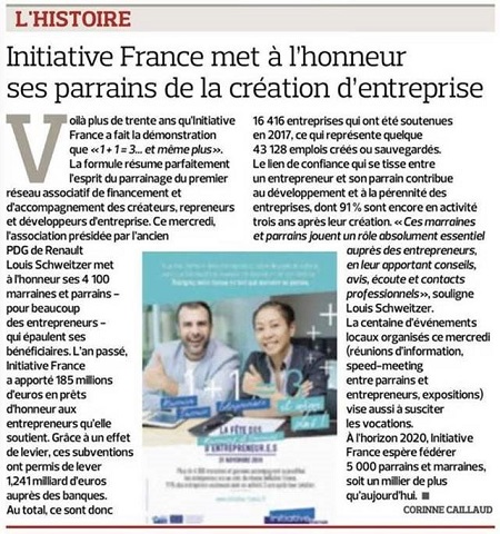 Article Le Figaro, 21/11/2018